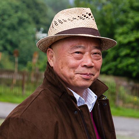 Portraitaufnahme von Großmeister Chu King-hung - Foto: Ralf Eiser