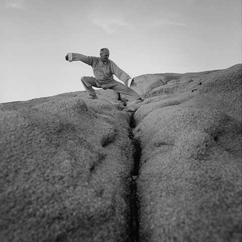Richard Sämmer bei der Tai Chi Form- Foto: Robert Fischer