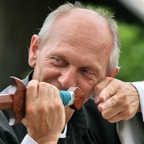 Richard Sämmer bei der Schwertform - Foto: Ralf Eiser