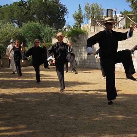 Sardinien Tai Chi Unterricht