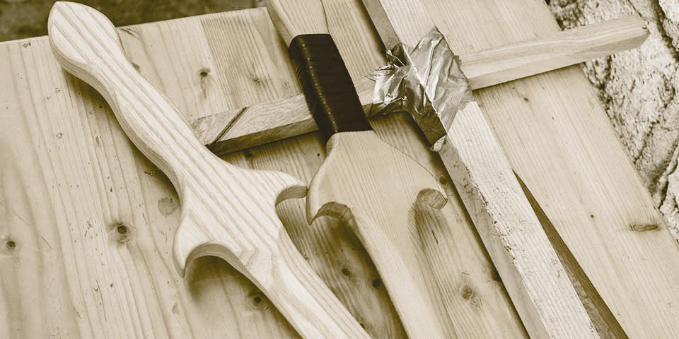 Stilleben mit Schwertern - Foto: Ralf Eiser