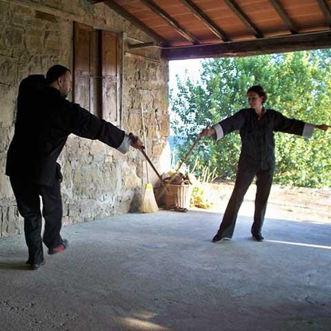 Toscana Tai Chi Schwert Unterricht